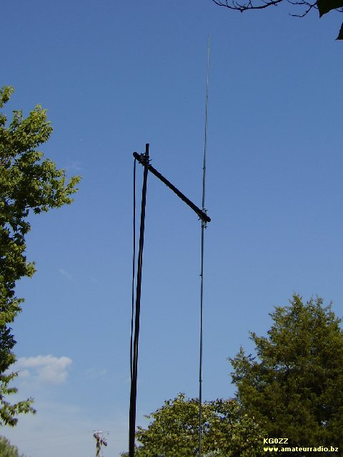The Peg Leg CB Radio Base Station Antenna